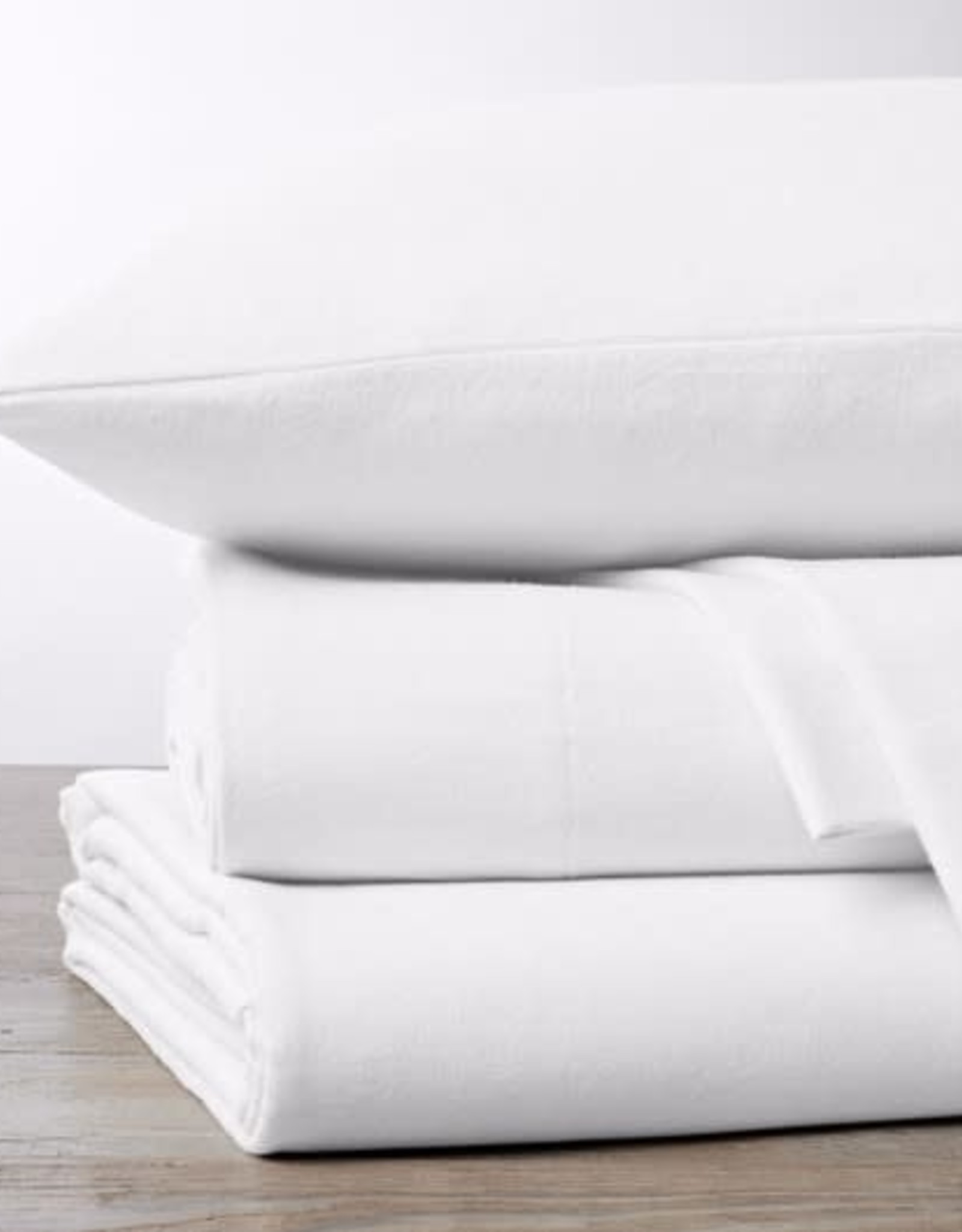 Cloud Brushed Flannel Sheets Alpine White