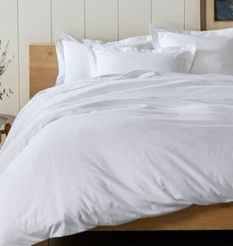 Cloud Brushed Flannel Duvet Cover Alpine White