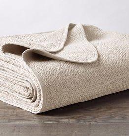 Honeycomb Blanket Ivory