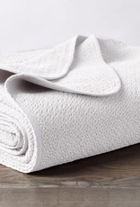 Honeycomb Blanket White