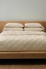 Diamond Stitched Organic Cotton Comforter Undyed