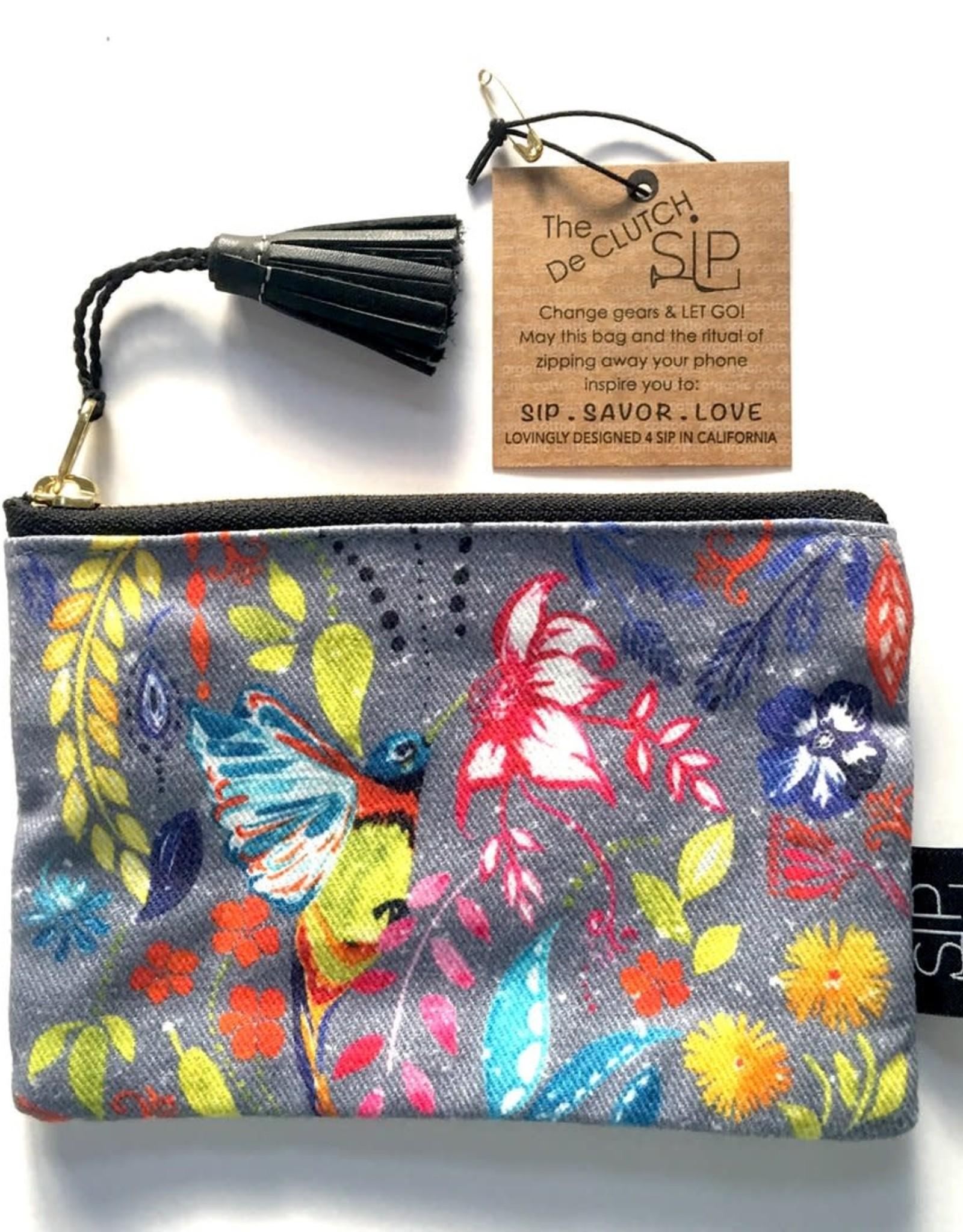 SIP Goods Happy Hummingbird Mini Pouch