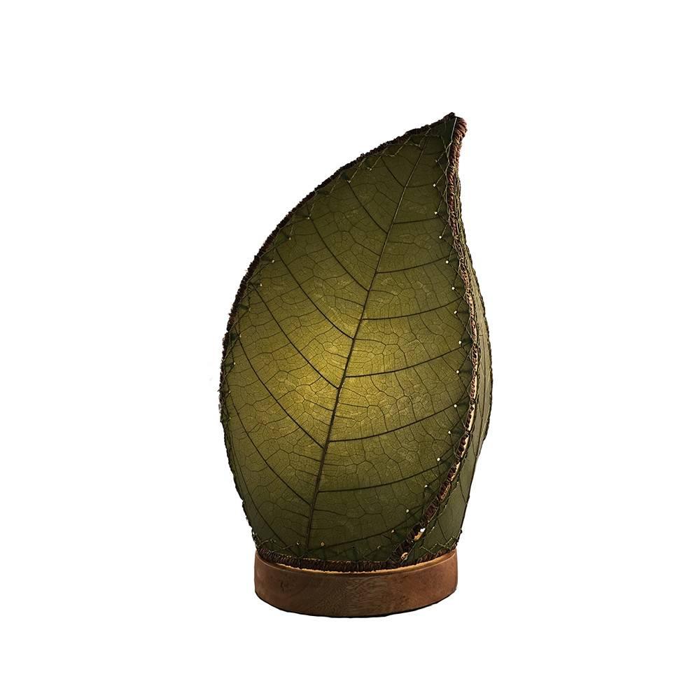 Eangee Leaflet Table Lamp, Green
