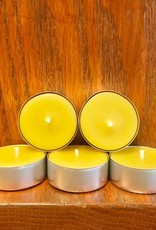 Kimberlis Garden Creations Beeswax Tea Light Candle