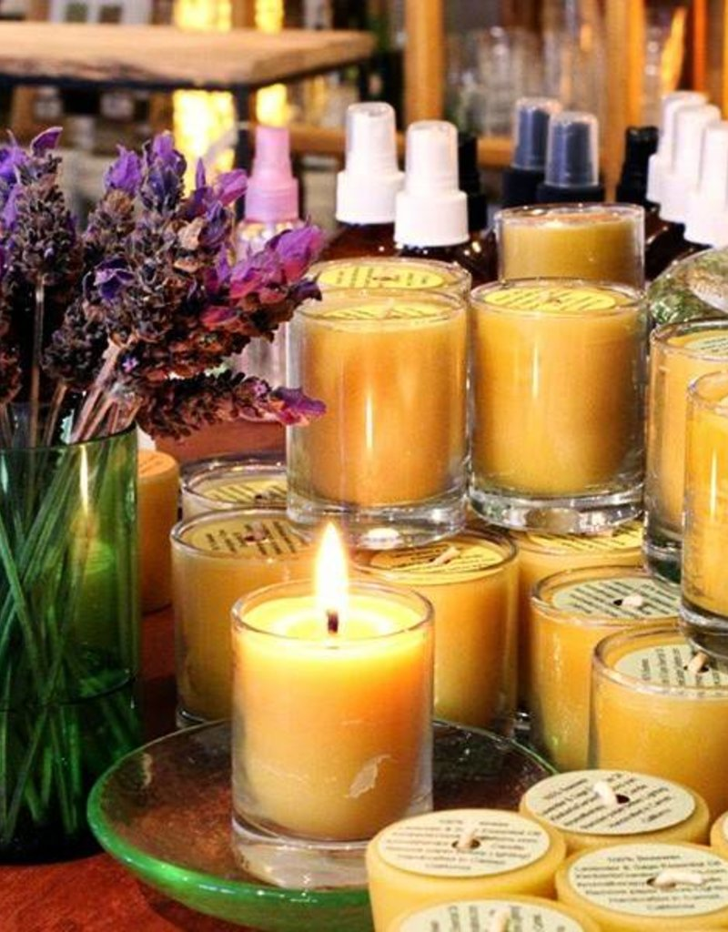 Kimberlis Garden Creations Aromatherapy Votive Candles in Glass
