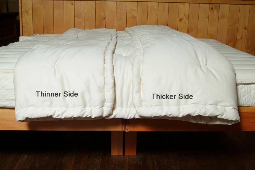 Dual Weight Comforter (Combo #3 - Perfect Comfort & Extra Warmth)