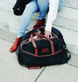 Maika Goods Reclaimed Cotton Canvas Duffel Bag