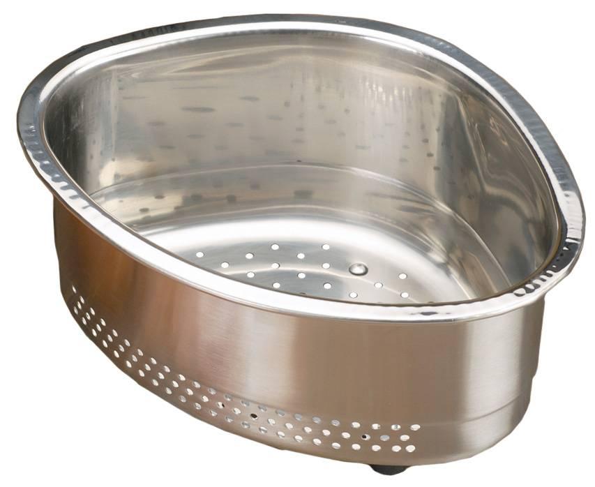S/S Corner Sink Basket