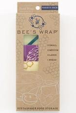 Beeswrap Variety Pack (2 Small, 2 Medium, 2 Large, 1 Bread)