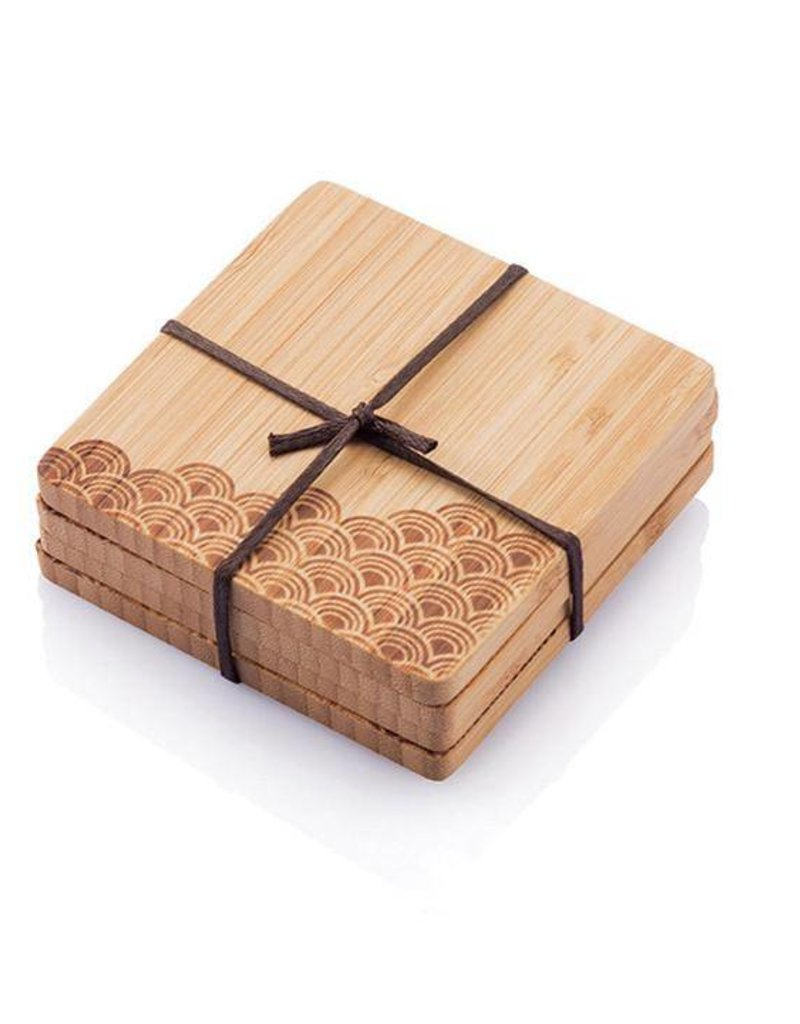 Bamboo Coasters- Set of 4