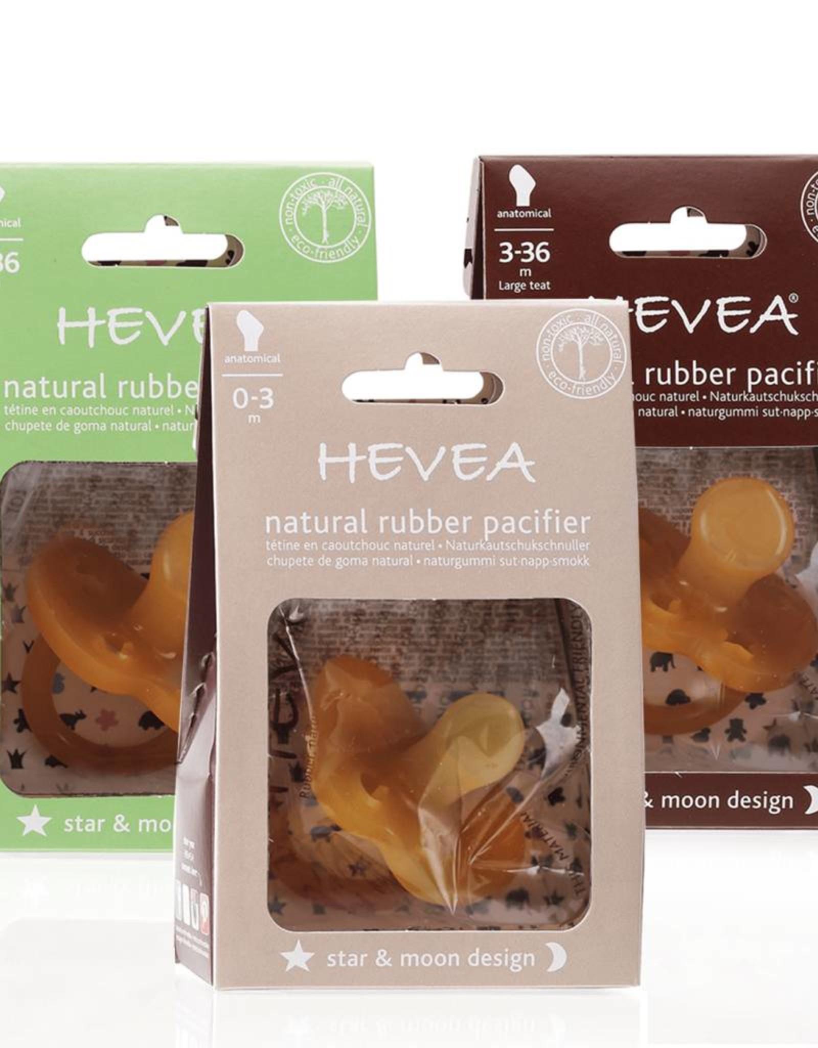 Hevea Star & Moon Orthodontic Pacifier