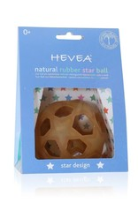 Hevea Natural Rubber Star Ball-Natural or Red Color