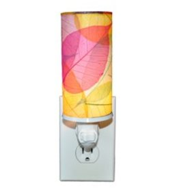 Eangee Cylinder Leaf Nightlight +10 Colors