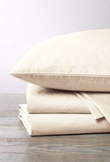 220 Percale Sheet Set- Natural, Twin