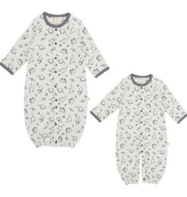 Tiny Twig Convertible Sleepsuit-