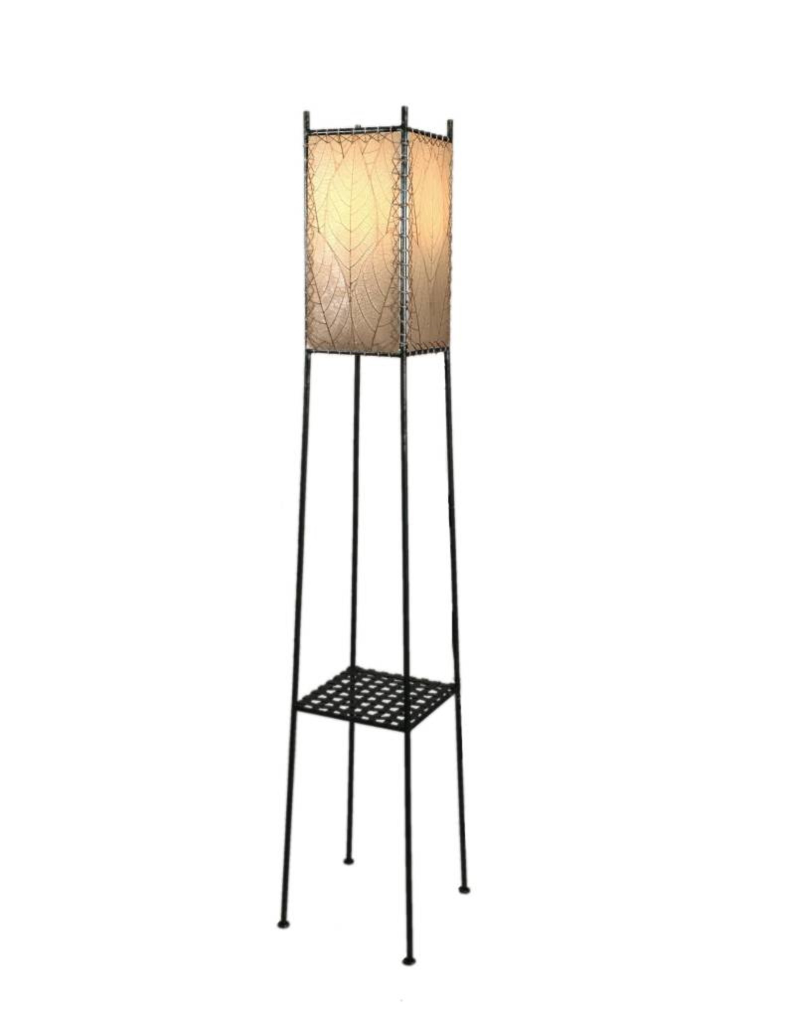 Eangee Outdoor Lamp with Shelf Natural