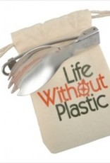 Life Without Plastic Foldable Spork in Bag