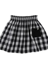 Turtledove London Check Skirt- Reversible