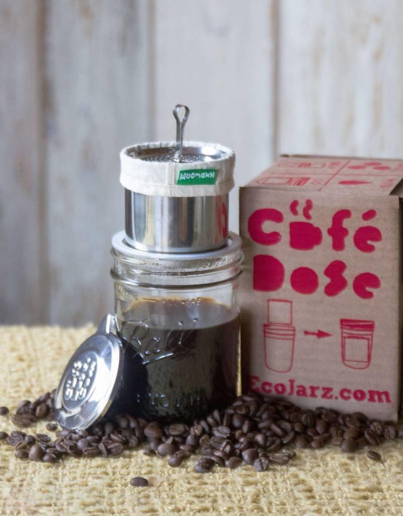 EcoJarz Cafe Dose Pour Over Coffee/Tea Kit