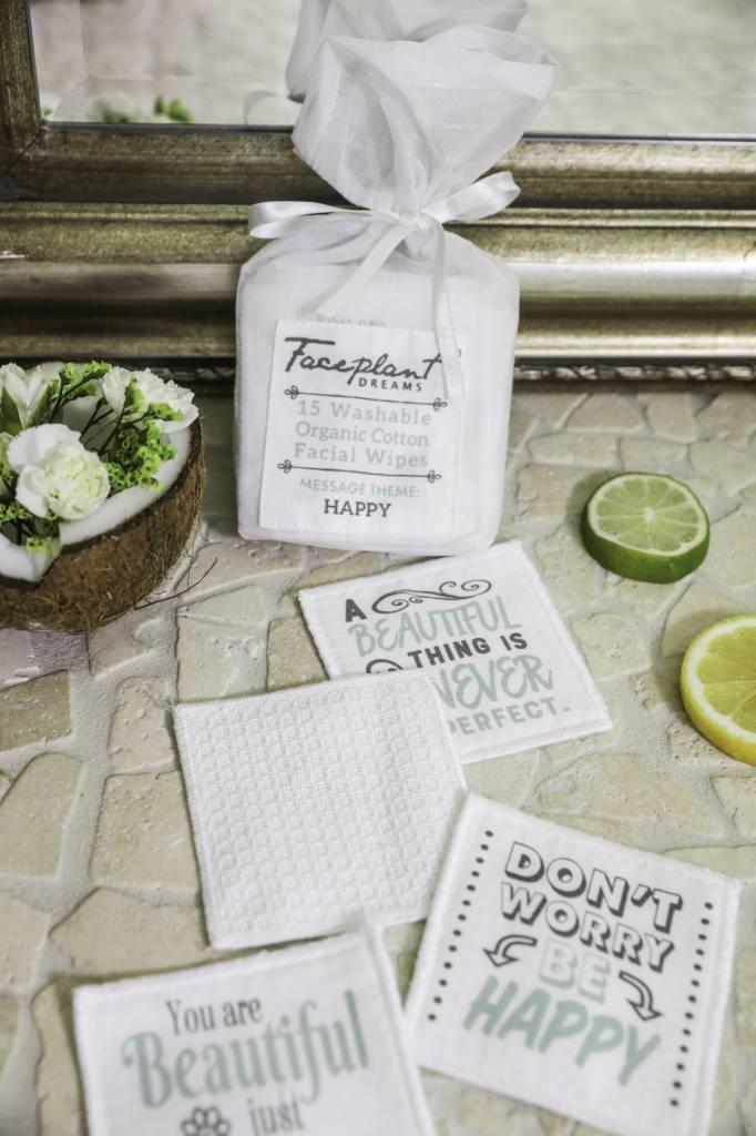 Faceplant Organic Cotton Facial Wipes