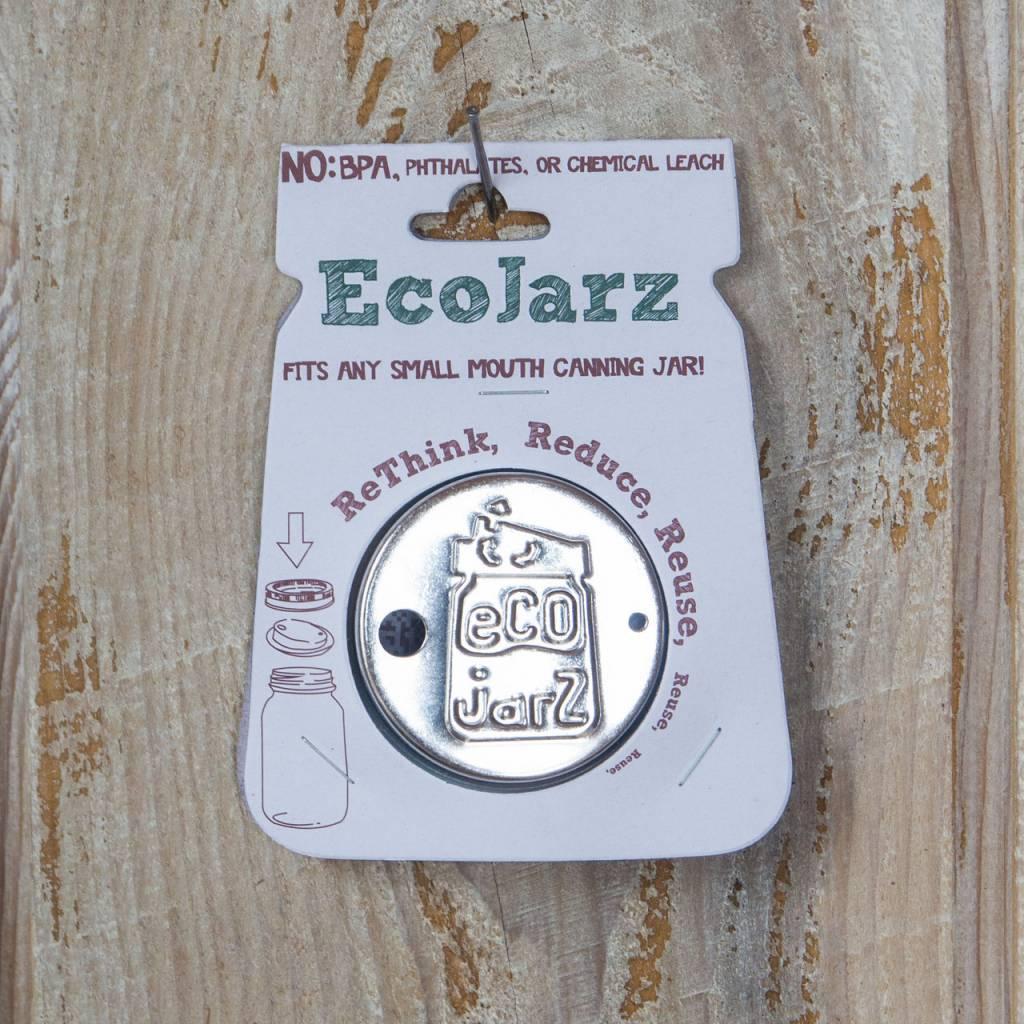 EcoJarz EcoJarz Classic Drinking Lid- Small Mouth