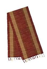 Vetiver Table Linens- Marsala Bronze
