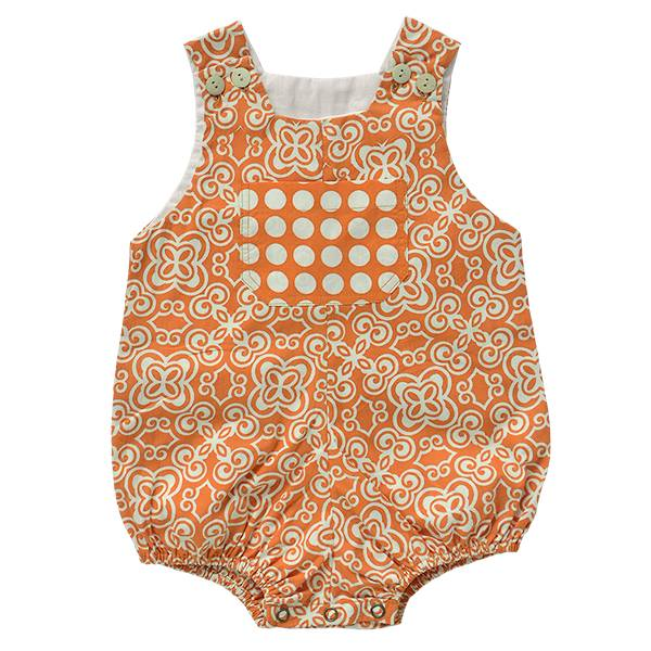 Scrappy Cotton Romper