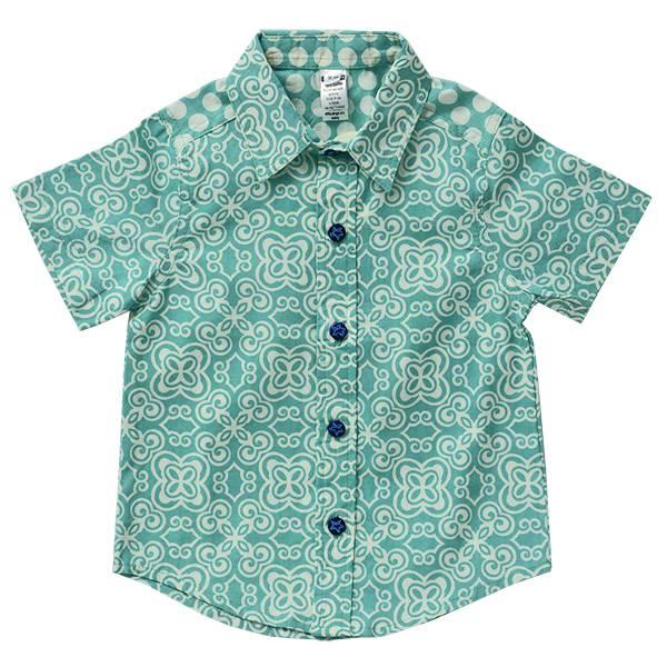Zen Zen Scrappy Button Down Shirt