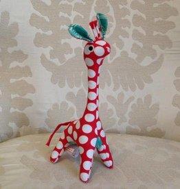 Scrappy Patchwork Giraffe