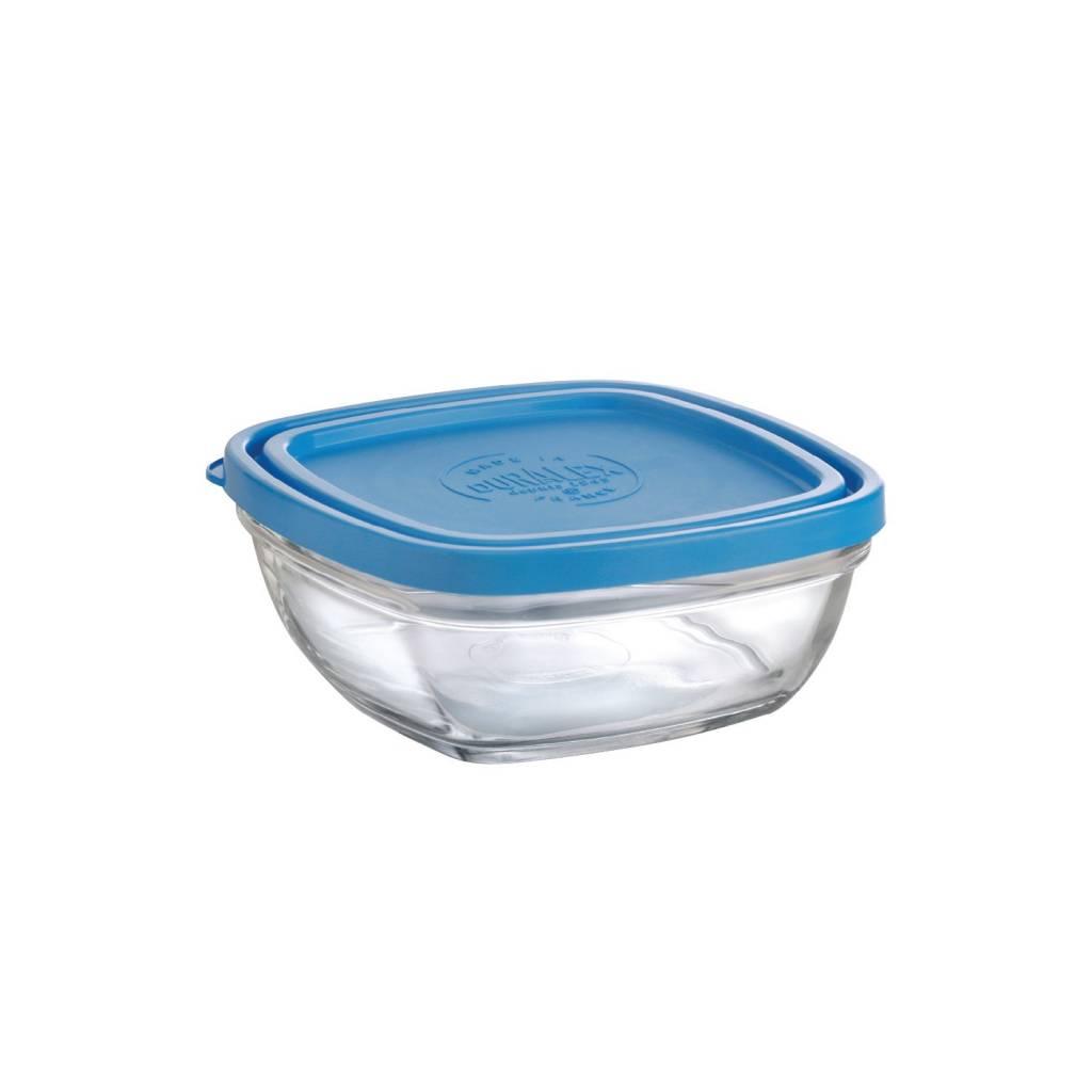Duralex Square Bowls with Lids-