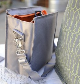 Slate Insulated Lunch Tote