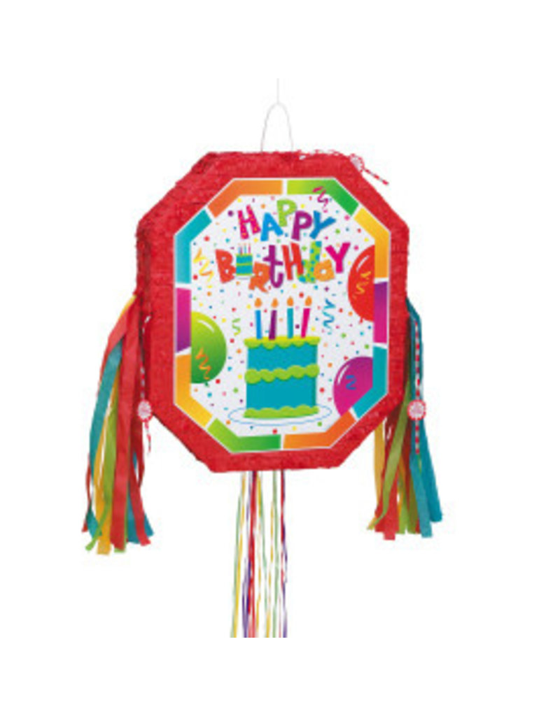 Remarkable Birthday Cake Pinata Pink Bliss Bvi Funny Birthday Cards Online Elaedamsfinfo