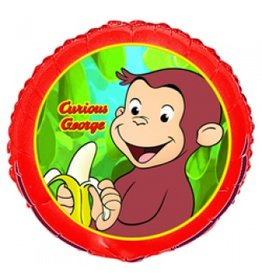 Curious George Birthday Balloons 18in Each