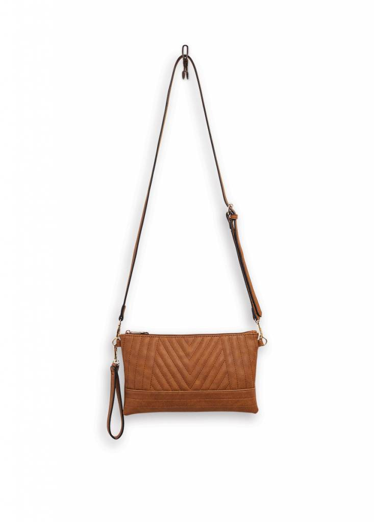 Mona B Rumor Crossbody Bag Chestnut
