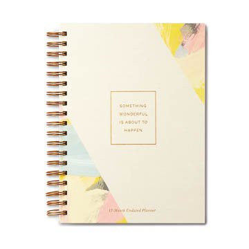 Fleurish Home Something Wonderful Undated Planner