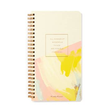 Fleurish Home All Manner of Wondrous Undated Spiral Planner