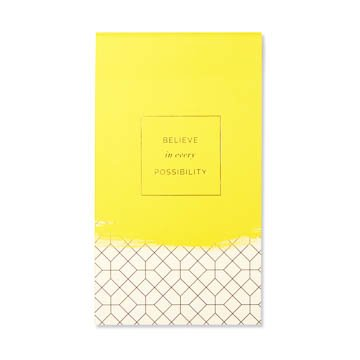 Fleurish Home Believe in Every Possibility List Pad