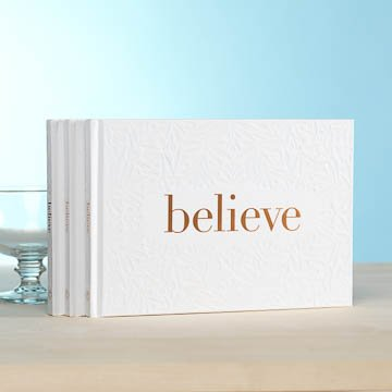 Fleurish Home Believe Book