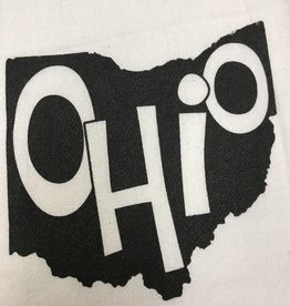 Fleurish Home Quotes Towel Ohio Shape w Name .