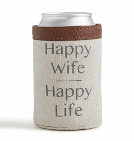 Mona B Happy Life Can Koozie