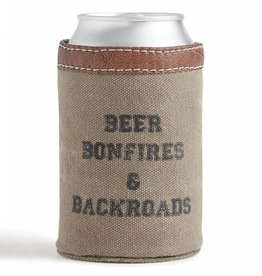 BBB Can Koozie: Beer, Bonfires, & Backroads