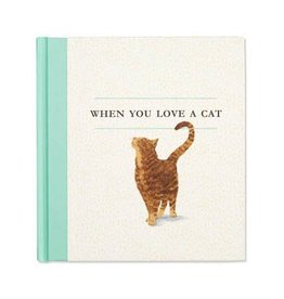 Fleurish Home When You Love a Cat Book