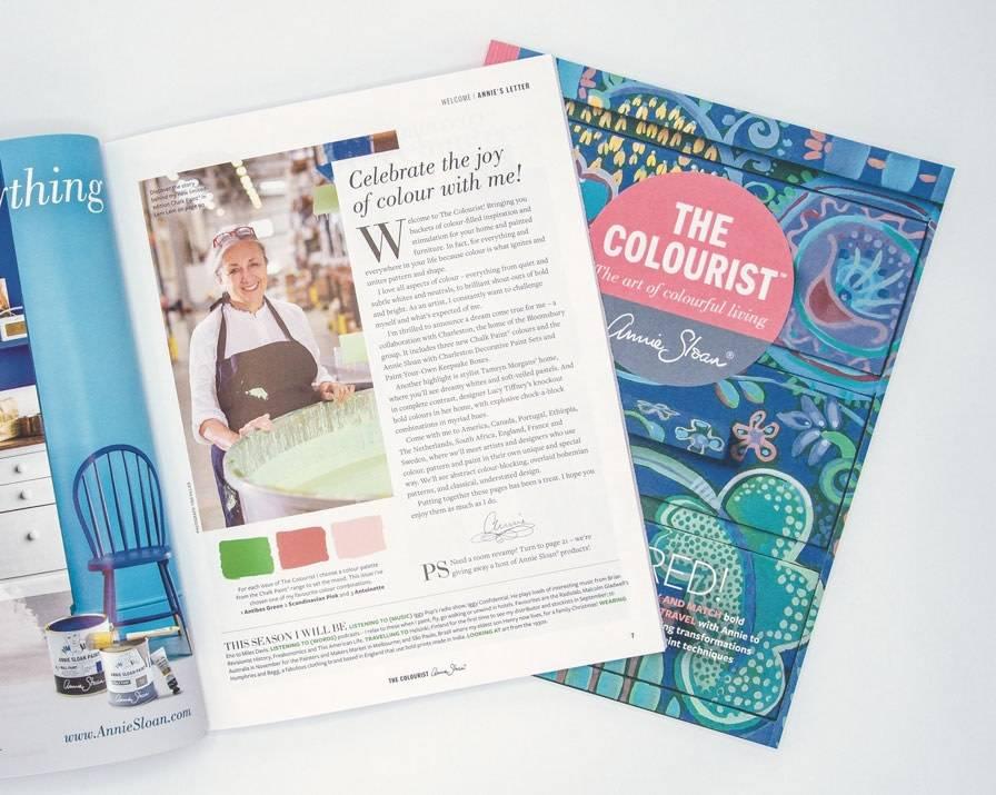 Annie Sloan Annie Sloan Colourist Bookazine