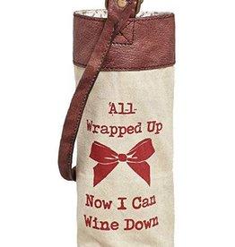 Mona B Wrapped Up Wine Bag