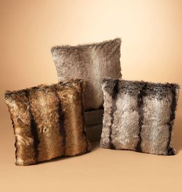 Fleurish Home Faux Fur Pillow (choice of 3 colors)