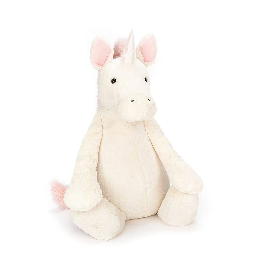 "Jellycat Bashful Unicorn Really Really Big 43""H"