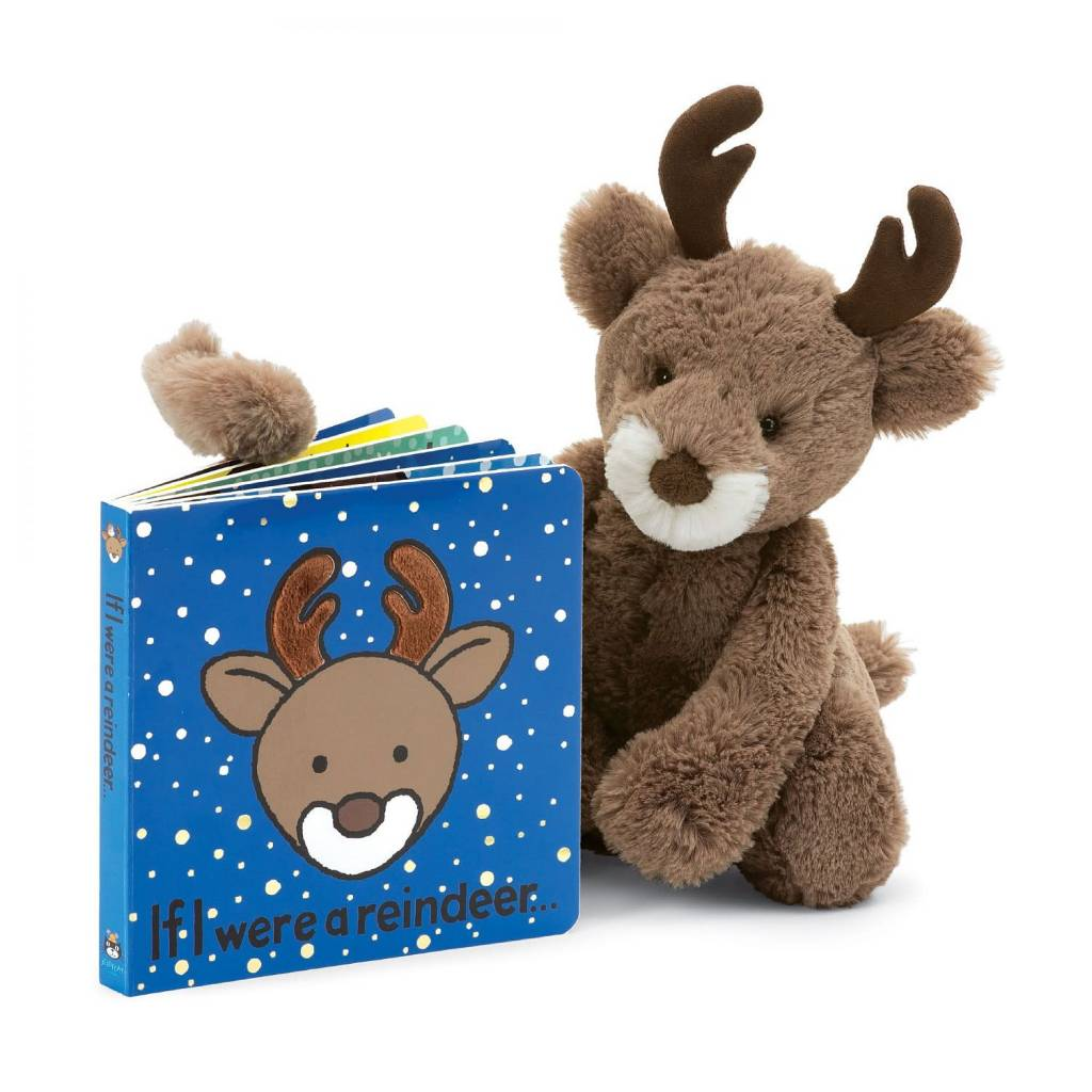 Jellycat If I were a Reindeer Book