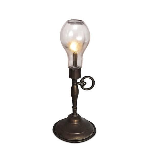 "Fleurish Home Med Antique Bulb Lamp 17"""
