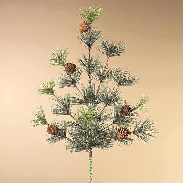 "Fleurish Home Mountain Pine Pick 24""H"