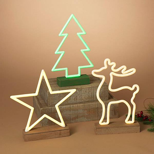 Fleurish Home LED Neon Holiday Decor (choice of 3 designs)